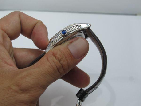 2 Đồng hồ David Yurman Nam automatic, nạm vàng fullbox size 35 mm