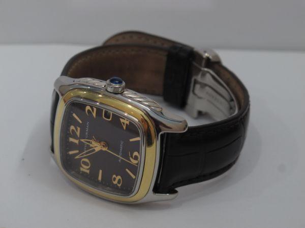 8 Đồng hồ David Yurman Nam automatic, nạm vàng fullbox size 35 mm