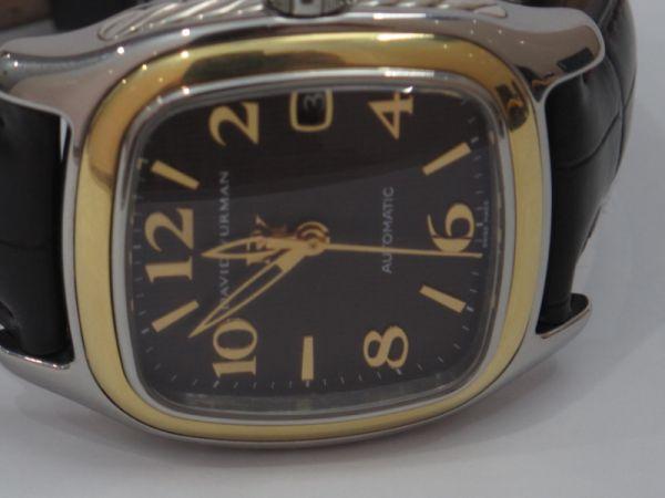 13 Đồng hồ David Yurman Nam automatic, nạm vàng fullbox size 35 mm