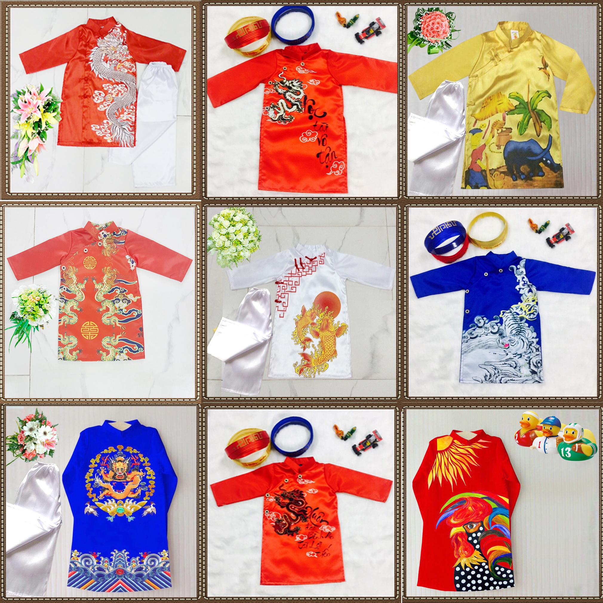 1 Chuyên sàn xuất-cung cấp sỉ áo dài truyền thống, áo dài cách tân Trẻ em
