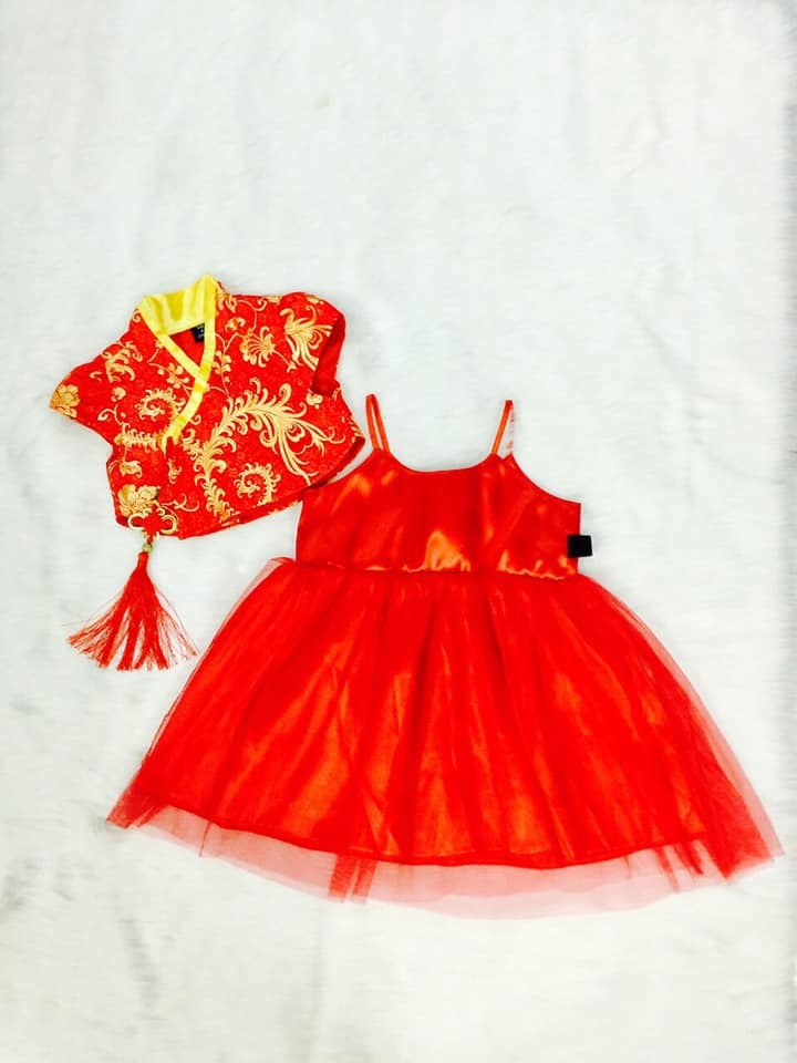6 Chuyên sàn xuất-cung cấp sỉ áo dài truyền thống, áo dài cách tân Trẻ em