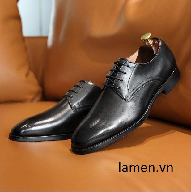 Giày tây công sở nam, giày cưới nam đẹp nhất hiện nay