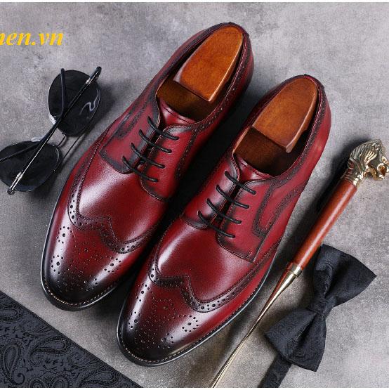 9 Giày tây công sở nam, giày cưới nam đẹp nhất hiện nay