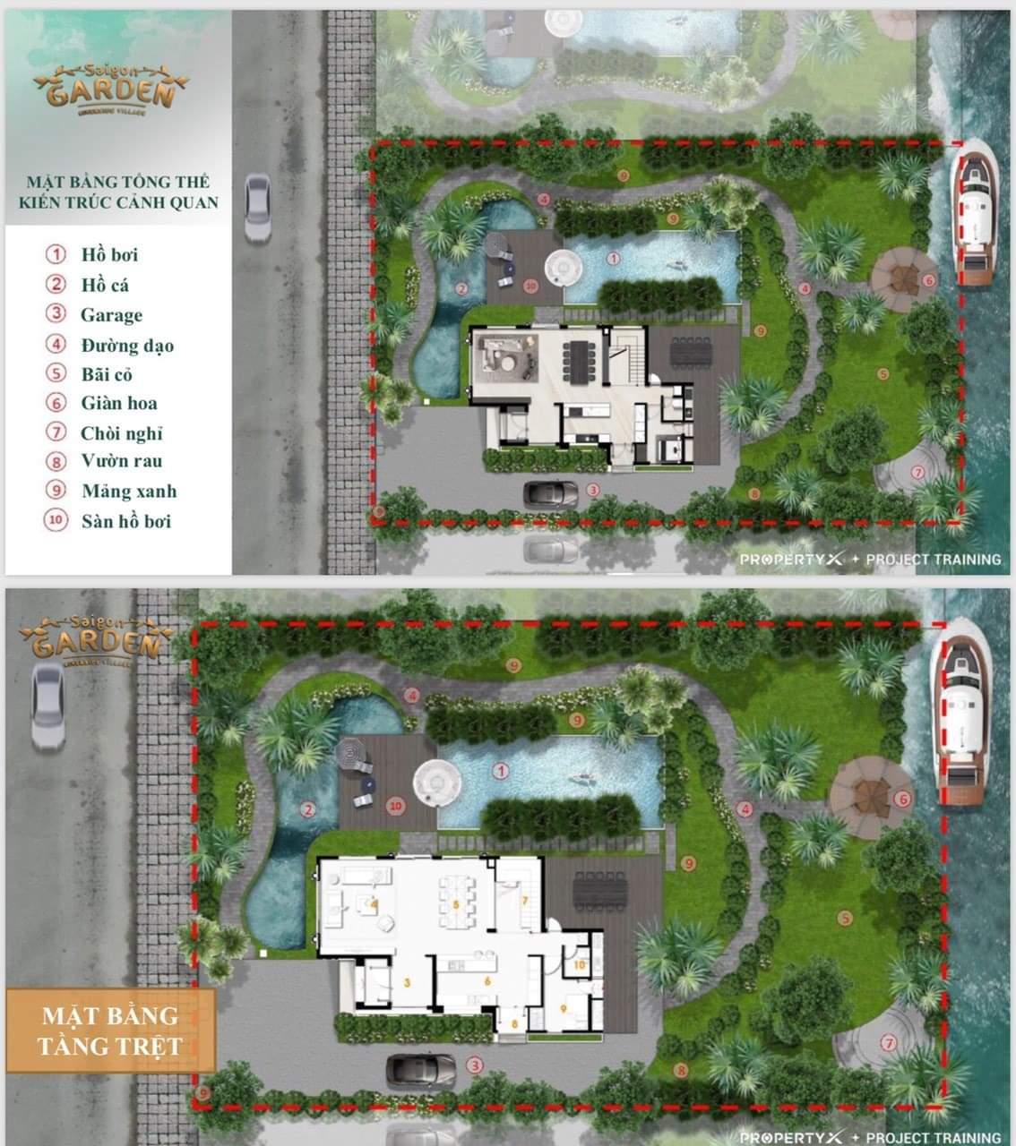 2 Saigon Garden Riverside Village - Hình thức sở hữu lâu dài, biệt thự nhà vườn nghỉ dưỡng