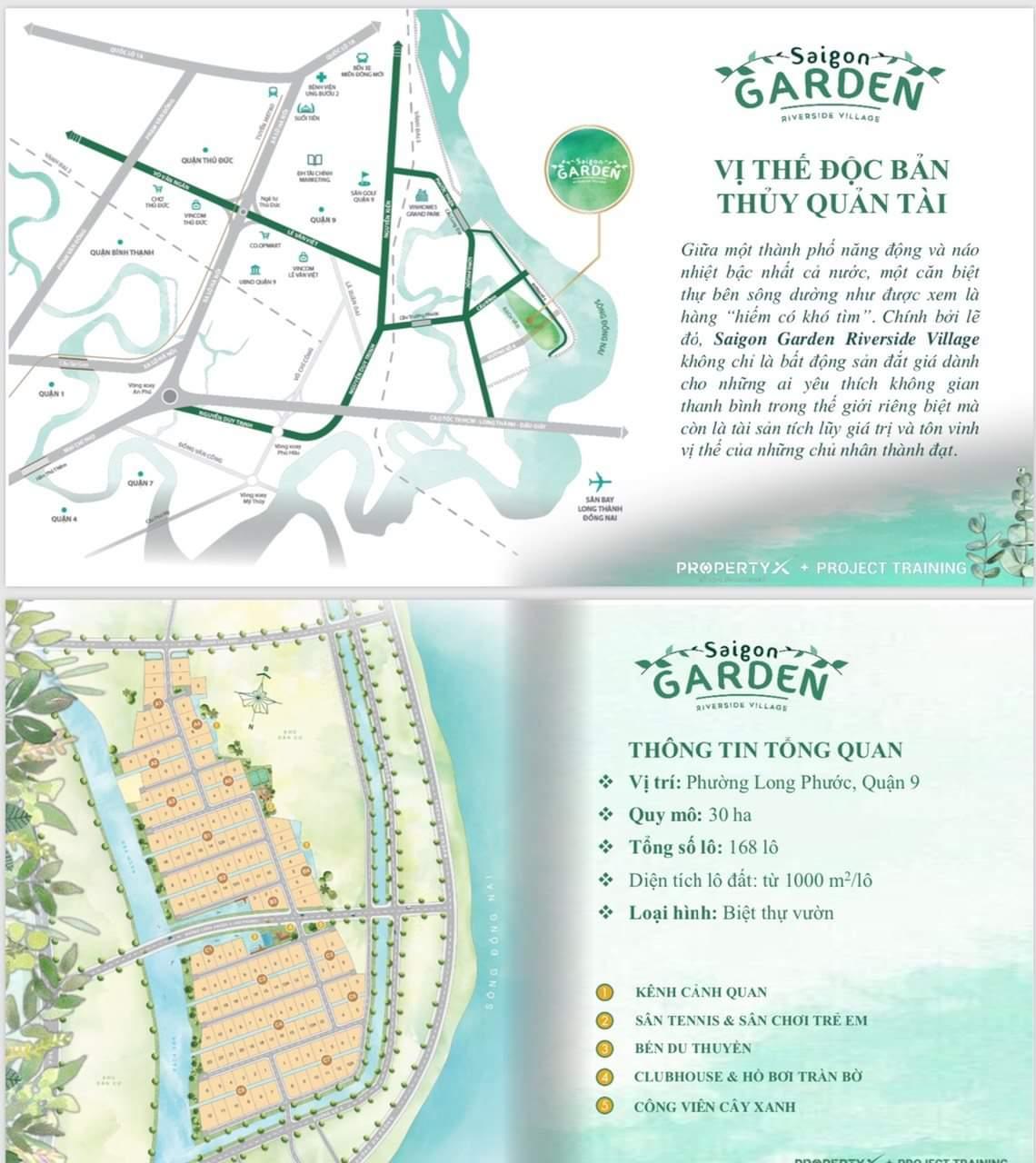 3 Saigon Garden Riverside Village - Hình thức sở hữu lâu dài, biệt thự nhà vườn nghỉ dưỡng