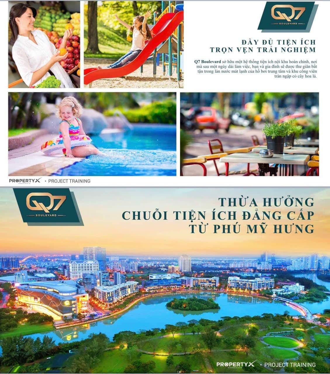 1 Q7 Boulevard - Saigon Urban Living-Chính thức nhận đặt chỗ: 50tr/căn hộ