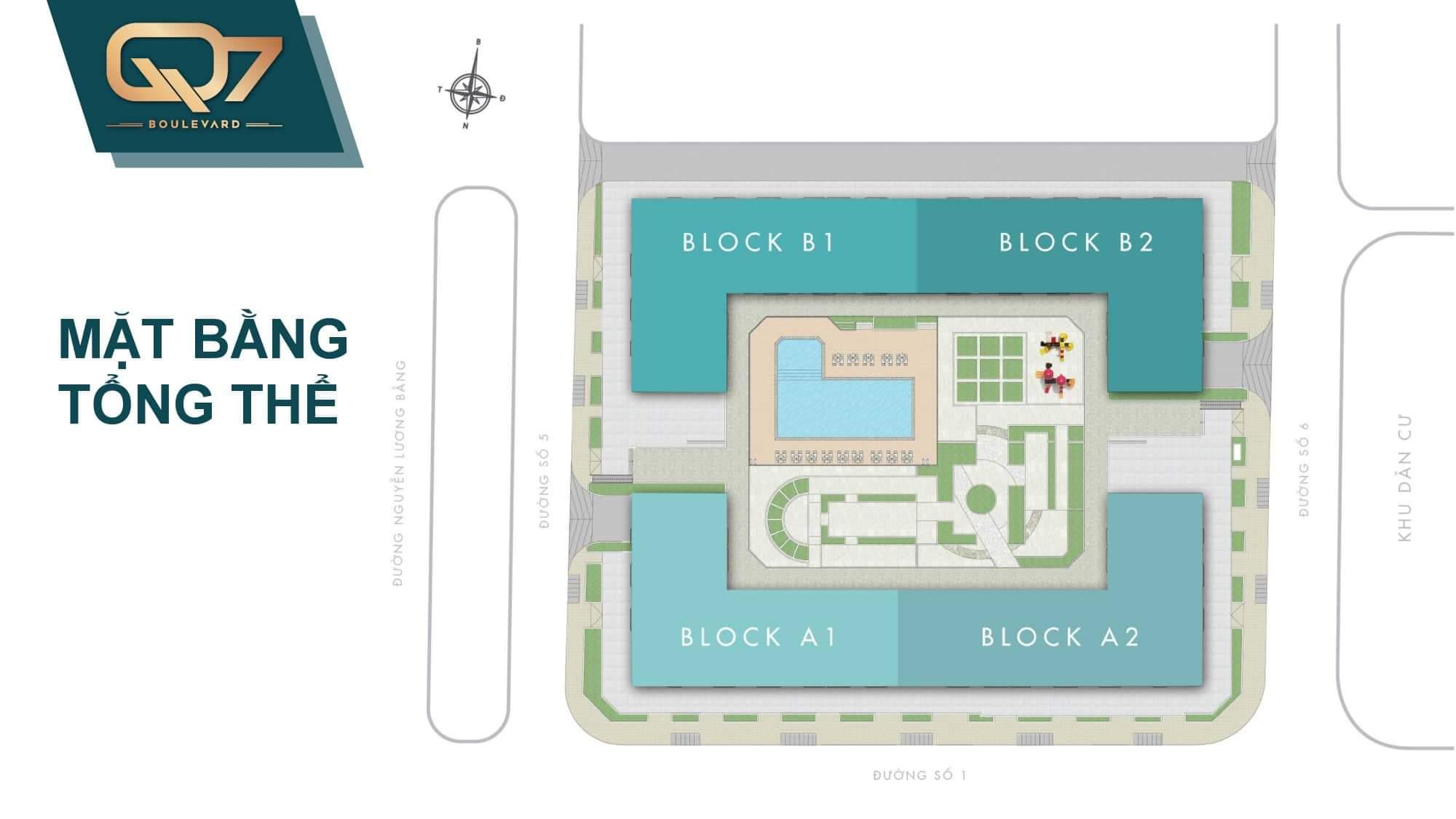 2 Q7 Boulevard - Saigon Urban Living-Chính thức nhận đặt chỗ: 50tr/căn hộ