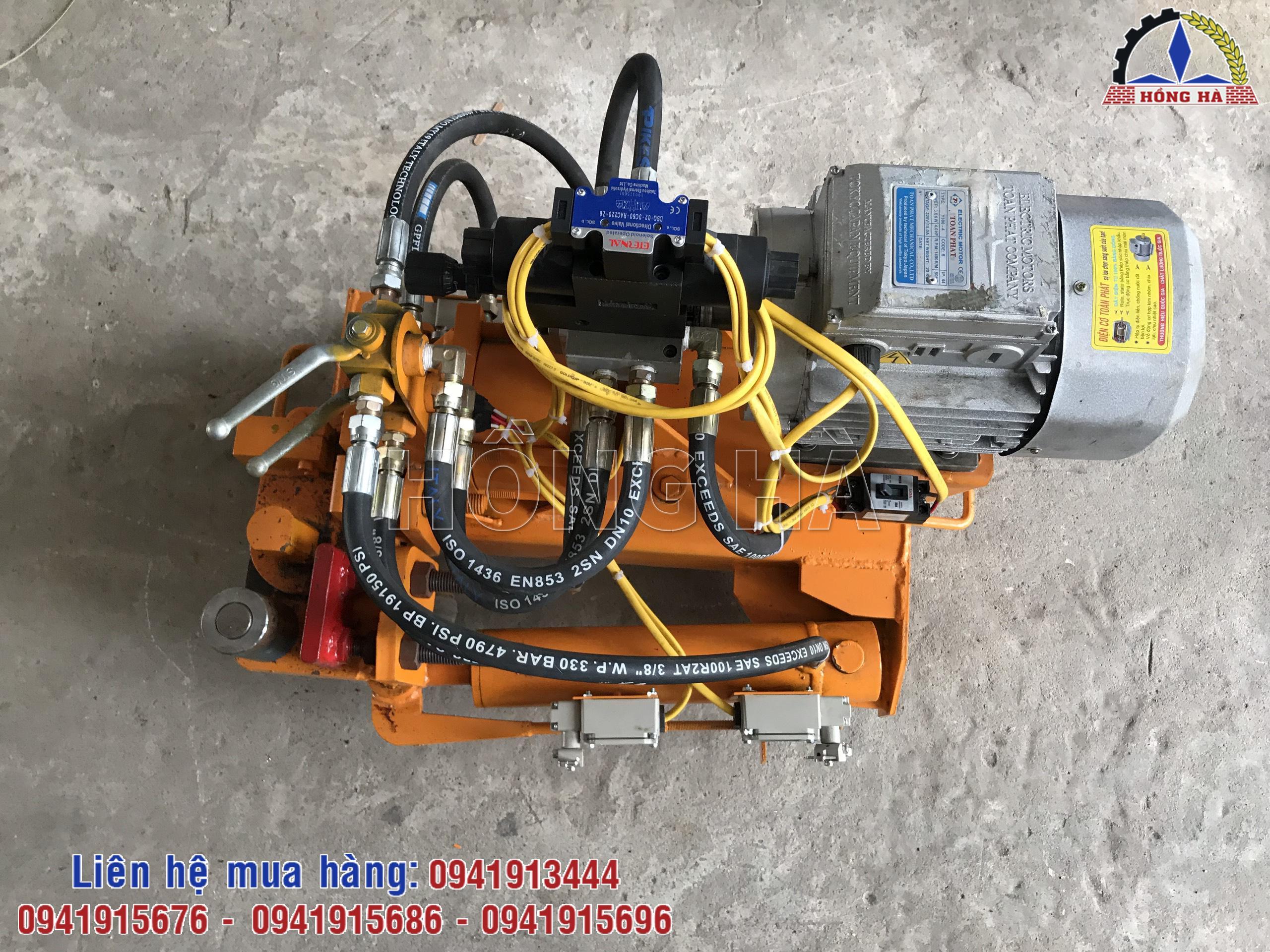 Máy cắt bẻ sắt CBF25 Hồng Hà có mặt trên khắp mọi miền của Tổ quốc
