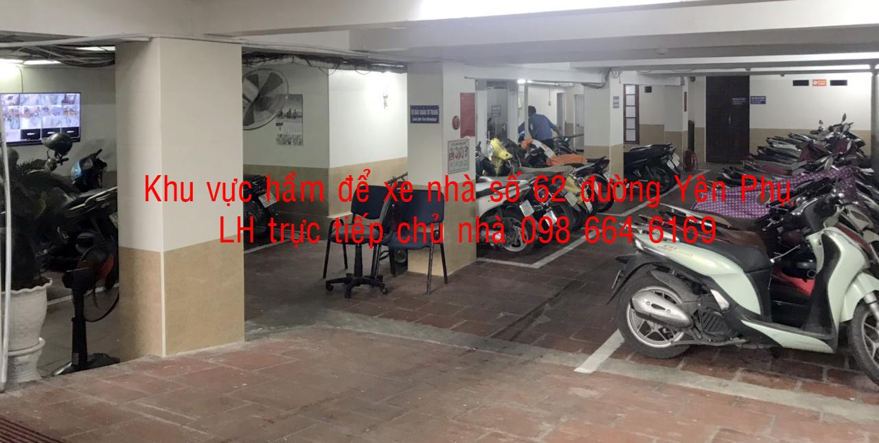 4 70 và 91m2  VP giá rẻ, DV tốt tại đường đôi Yên Phụ. LH  trực tiếp chủ nhà: 0986 646 169