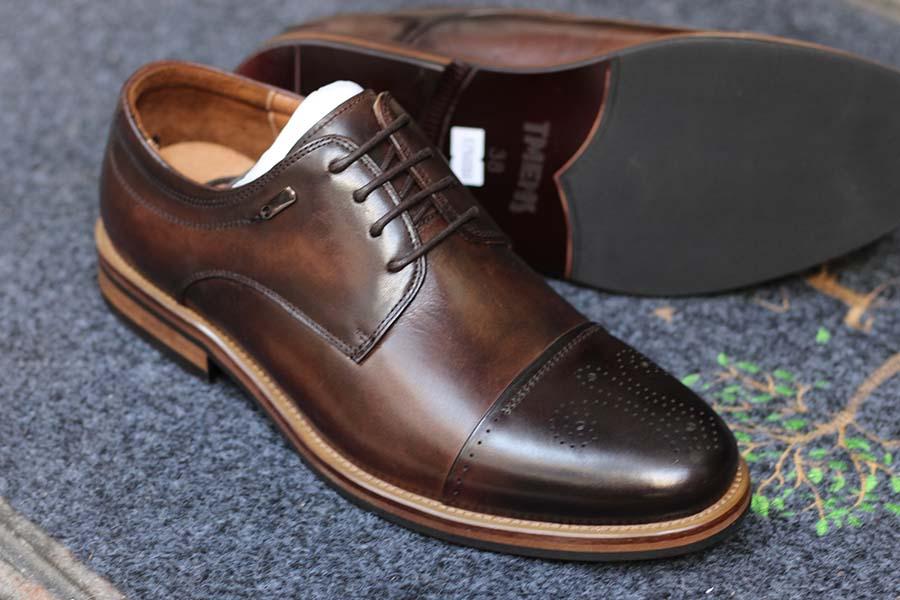 3 Giày da nam công sở Oxford cao cấp, giày cưới nam đẹp nhất