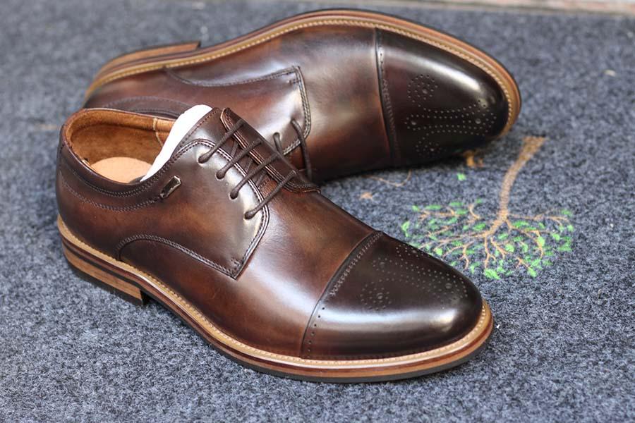 4 Giày da nam công sở Oxford cao cấp, giày cưới nam đẹp nhất