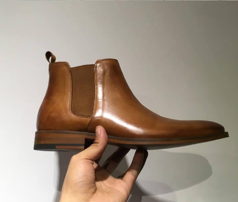 Giày Chelsea Boot Lamen cao cấp