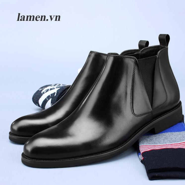 2 Giày Chelsea Boot Lamen cao cấp