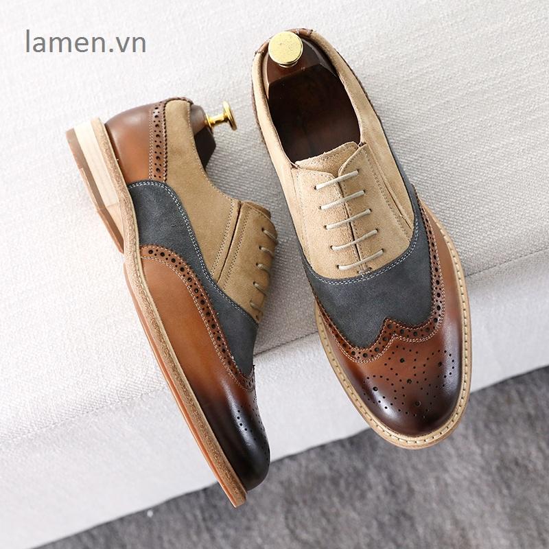 3 Giay Oxford,giày cưới,giày công sở cao cấp Lamen