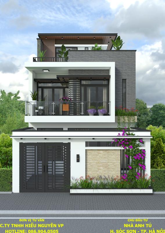 Mẫu thiết kế nhà đẹp tại Vĩnh Phúc năm 2019