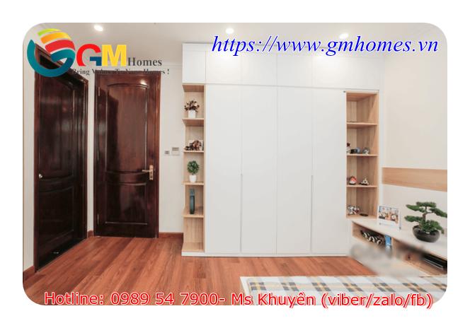 7 Tủ quần áo gỗ công nghiệp cho căn hộ chung cư sản xuất theo yêu cầu