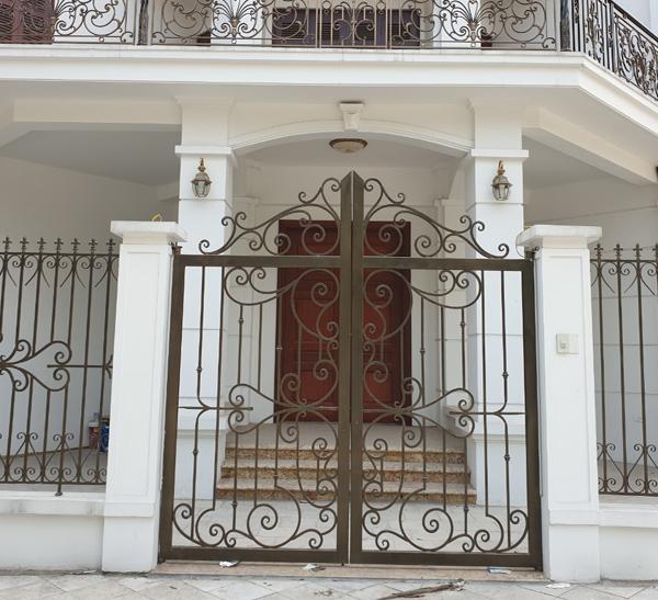 9 Cửa cổng sắt đẹp