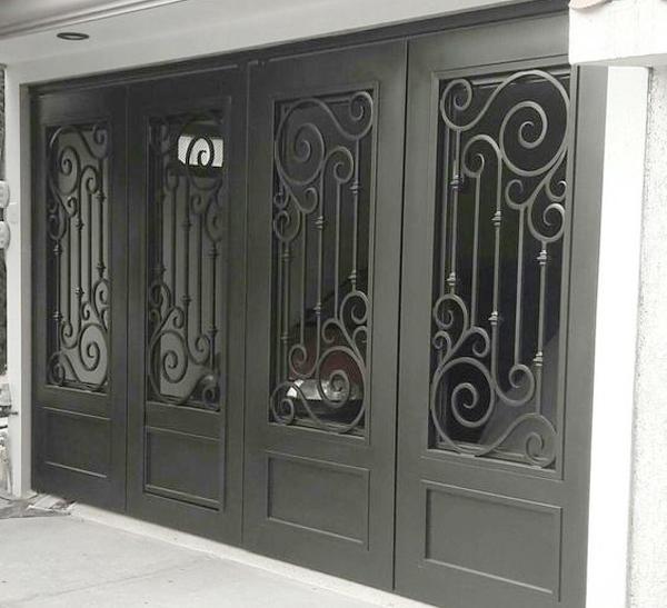 10 Cửa cổng sắt đẹp