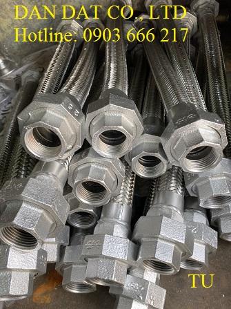9 SP CN Dan Dat Flex gia công:ống mềm inox chịu áp lực cao-khớp co giãn áp lực cao-ống bù giãn nở nhiệ