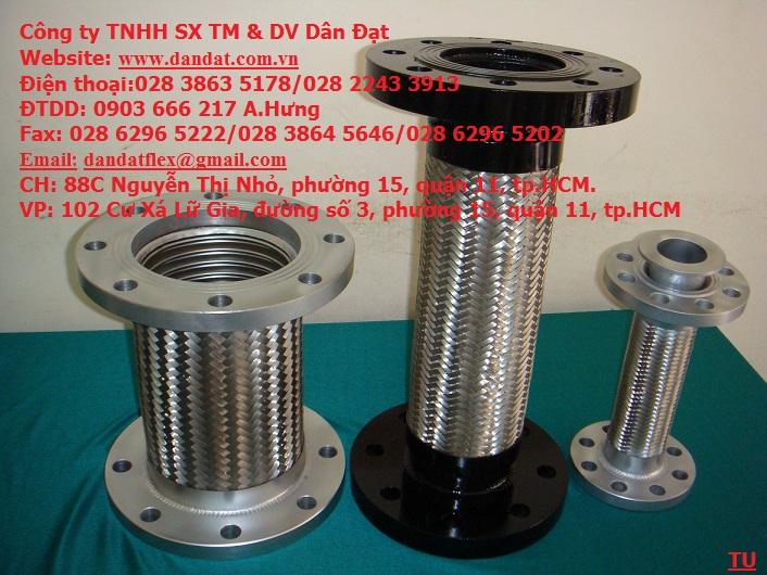 1 Nhận sản xuất ống mềm cao su-khớp nối mềm cao su-khớp chống rung inox