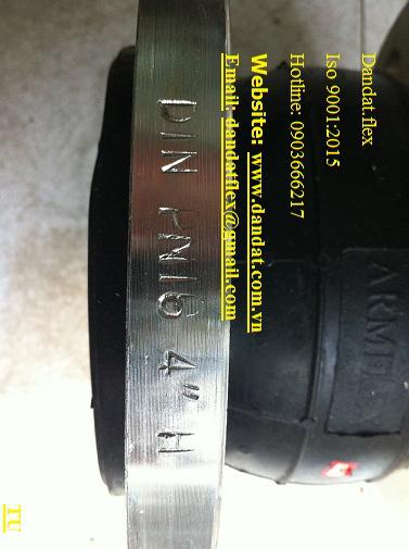 8 Nhận sản xuất ống mềm cao su-khớp nối mềm cao su-khớp chống rung inox