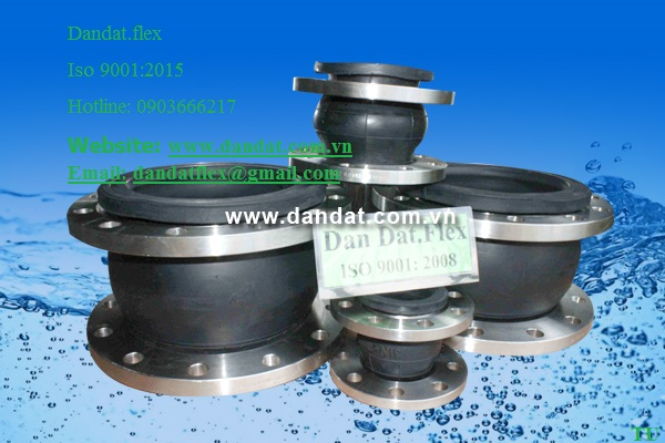 9 Nhận sản xuất ống mềm cao su-khớp nối mềm cao su-khớp chống rung inox