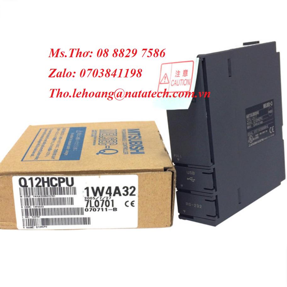 4 Bộ điều khiển lập trình Mitsubishi Q172CPUN - Cty Natatech
