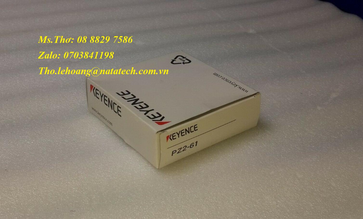 7 Cảm biến quang điện Keyence PZ2-61 - Công Ty TNHH Natatech