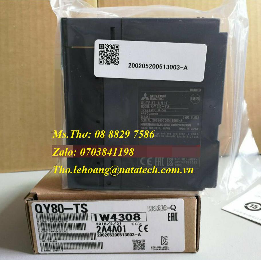 1 DC Output Mitsubishi QY80-TS - Công Ty TNHH Natatech