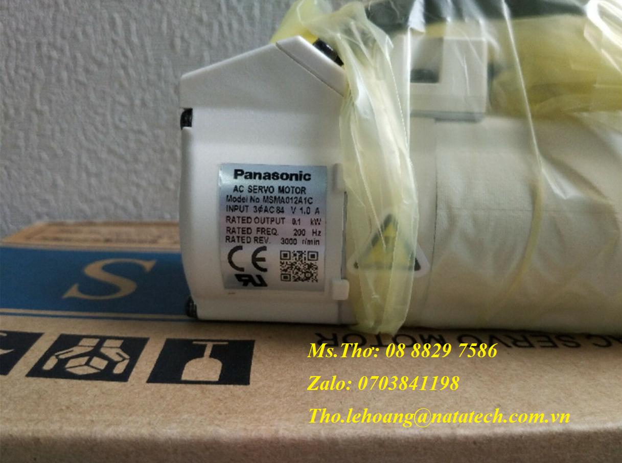 2 Servo motor Panasonic MSMA012A1C - Công Ty TNHH Natatech