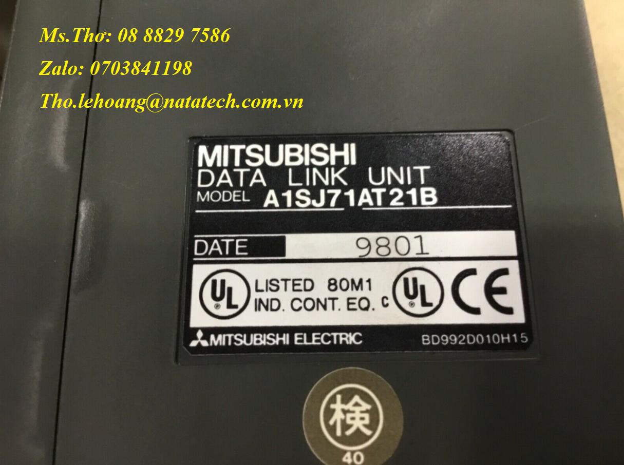 8 Module Mitsubishi A1SJ71AT21B - Công Ty TNHH Natatech