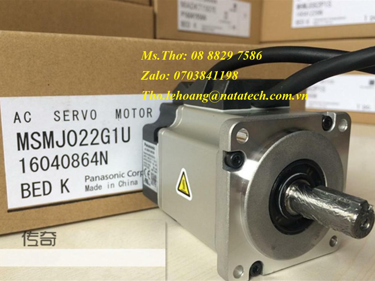 3 Servo motor Panasonic MSMJ022G1U - Công Ty TNHH Natatech