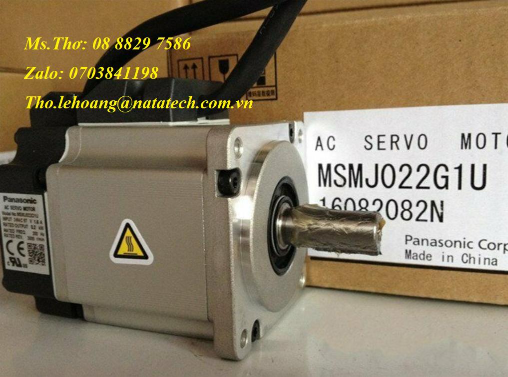 9 Servo motor Panasonic MSMJ022G1U - Công Ty TNHH Natatech