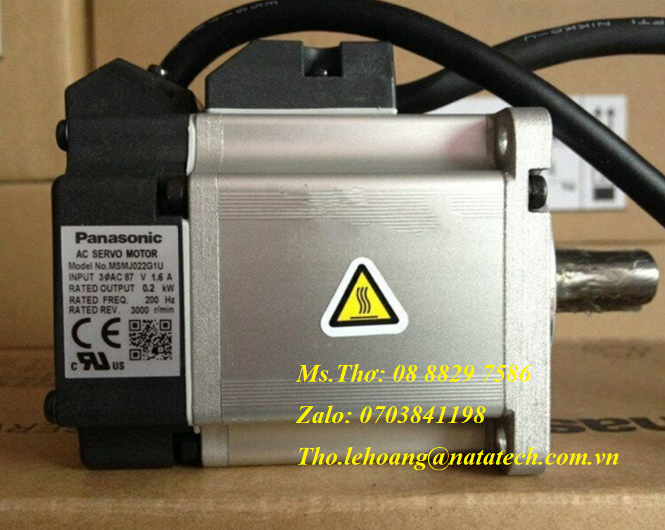 10 Servo motor Panasonic MSMJ022G1U - Công Ty TNHH Natatech