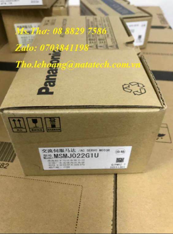 12 Servo motor Panasonic MSMJ022G1U - Công Ty TNHH Natatech