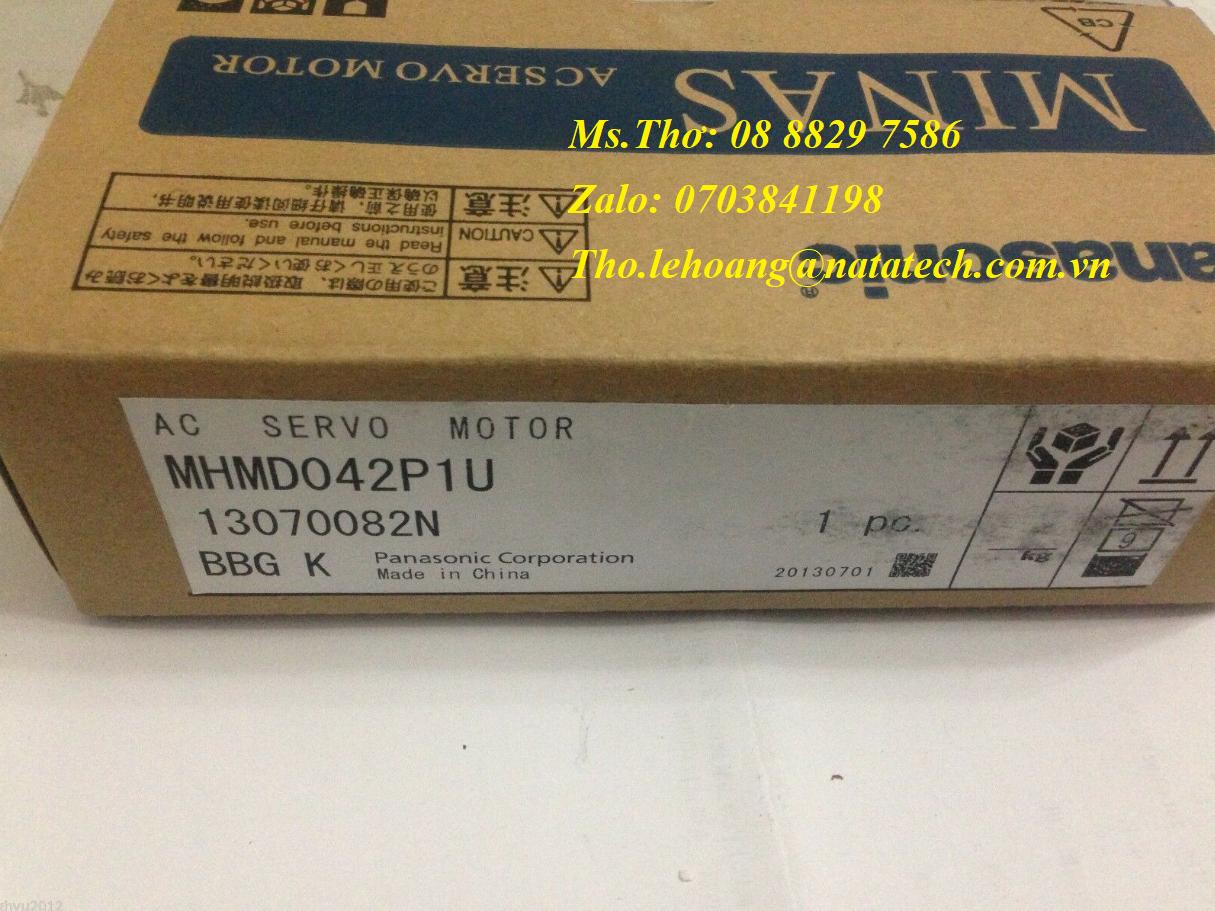 8 Servo motor Panasonic MSMD042P1U - Công Ty TNHH Natatech