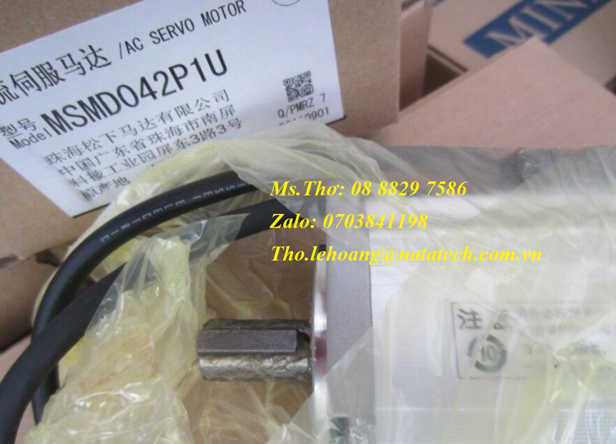 9 Servo motor Panasonic MSMD042P1U - Công Ty TNHH Natatech