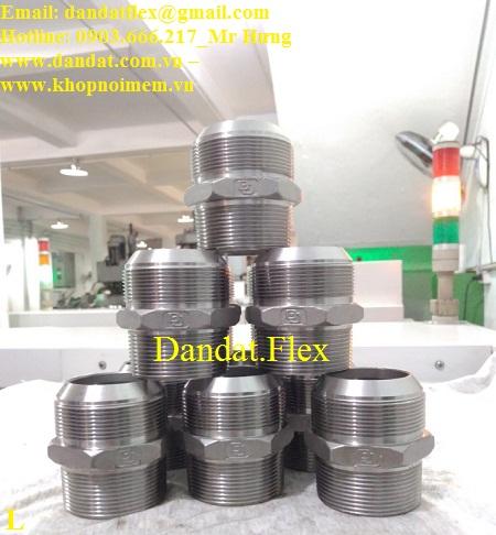 5 Đầu nối inox - Phụ kiện inox - Đầu nối cho Ống mềm inox - Khớp nối mềm inox