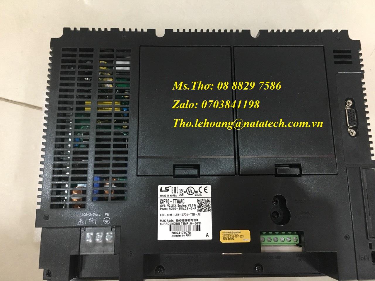 1 Màn hình LS iXP70-TTA/AC - Công Ty TNHH Natatech