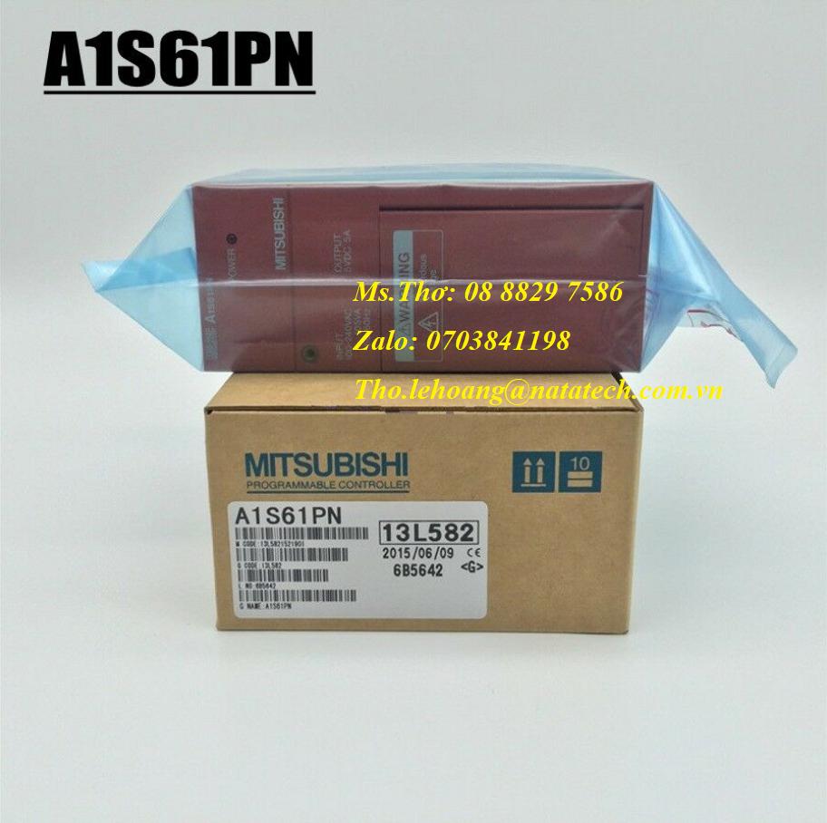 Bộ nguồn PLC Mitsubishi A1S61PN - Công Ty TNHH Natatech