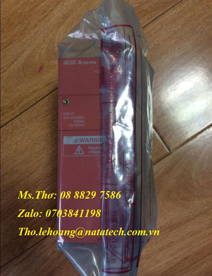 9 Bộ nguồn PLC Mitsubishi A1S61PN - Công Ty TNHH Natatech