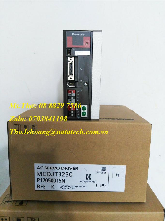 5 Bộ điều khiển servo Panasonic MCDJT3230 - Công Ty TNHH Natatech