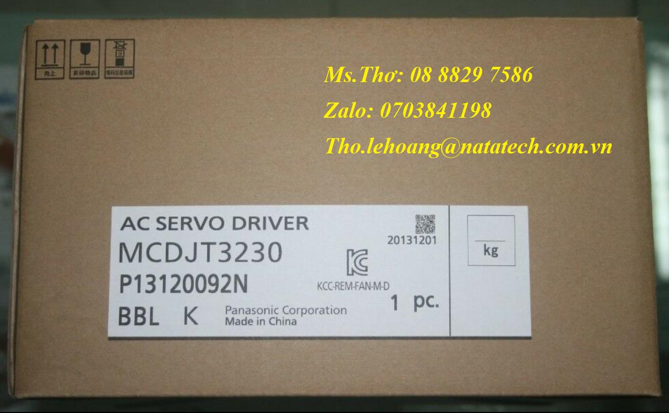 7 Bộ điều khiển servo Panasonic MCDJT3230 - Công Ty TNHH Natatech