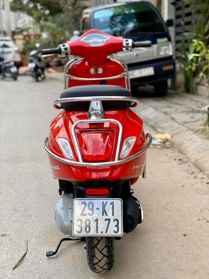 4 Primareva 1253Vie đỏ xe đẹp đi lướt cực mới đủ quây inox