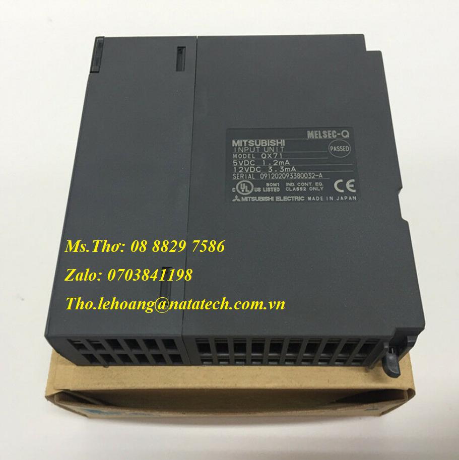 3 Module ngõ vào Mitsubishi QX71 - Công Ty TNHH Natatech