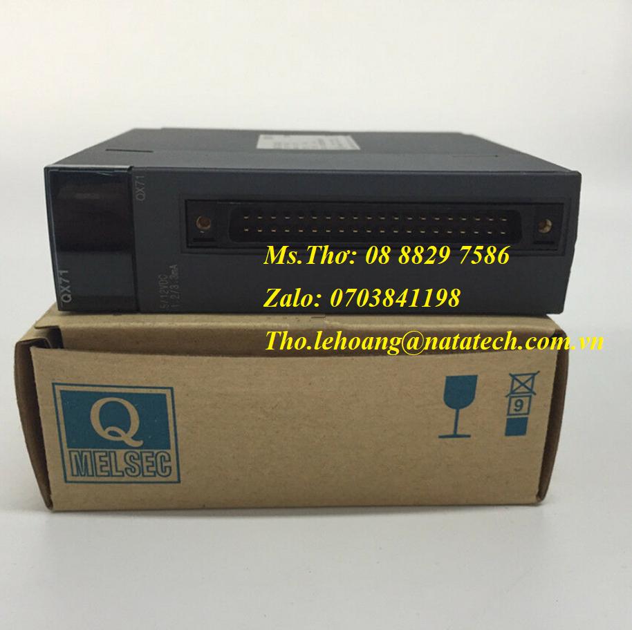 4 Module ngõ vào Mitsubishi QX71 - Công Ty TNHH Natatech