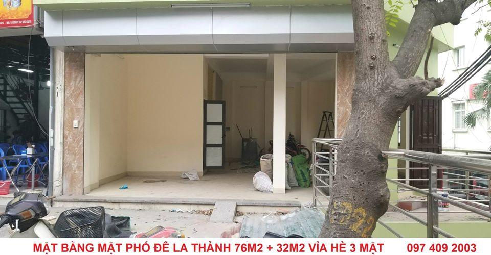 2 Chính chủ cho thuê mặt bằng và Văn phòng tại Kim Mã - La Thành