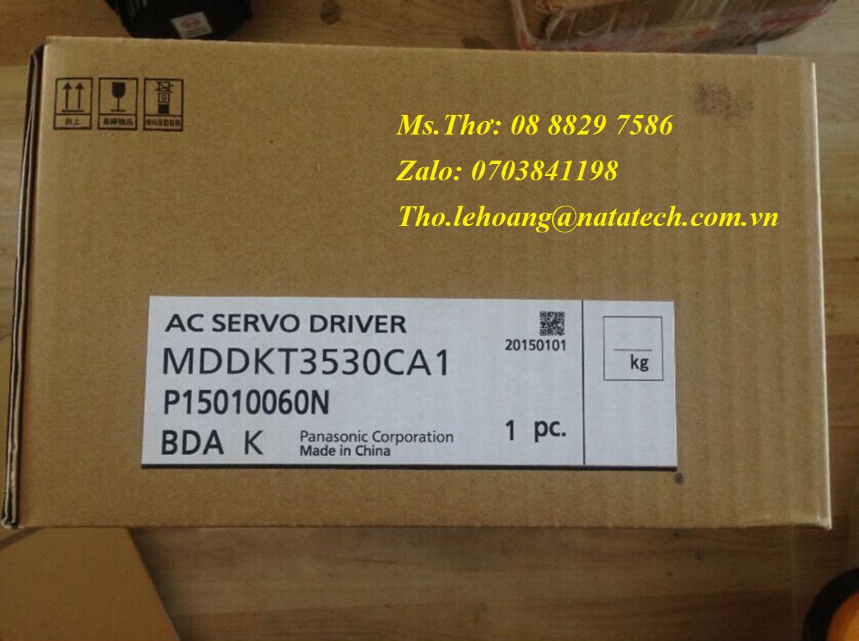 4 Bộ điều khiển Panasonic MDDKT3530CA1 - Công Ty TNHH Natatech
