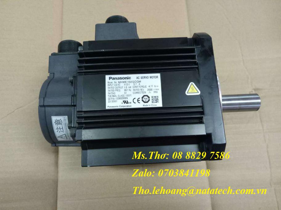 4 Servo motor Panasonic MHME102GCGM - Công Ty TNHH Natatech