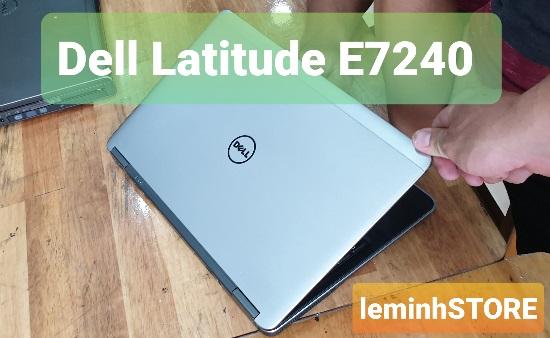4 Dell Latitude E7240 - i7-4600U, RAM 4GB, ổ cứng SSD 120GB, 12 5 - leminhSTORE
